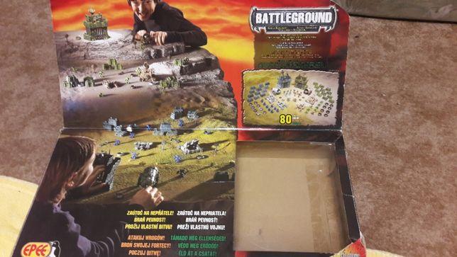 Battleground Epee kusze katapulty żołnierzyki gra bitewna dwa zamki
