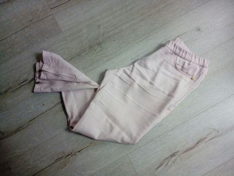 Spodnie leginsy jasny róż M