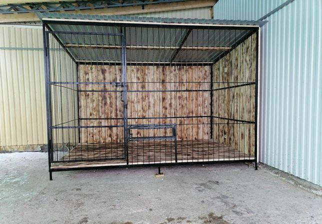 """Вольер для собак.,2*3 метра,""""Стандарт"""". Доставка по Украине."""
