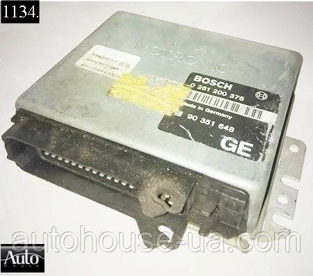 Электронный блок управления (ЭБУ) Opel Calibra Opel Vectra a 2.0 90-95
