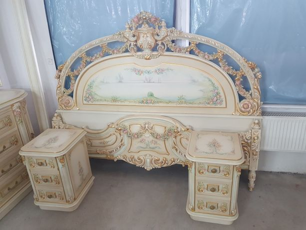 Oryginalna włoska sypialnia +fotele Silik