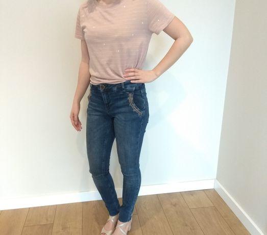 Mos Mosh Etta Inca Jeans 34 xs nowe z metką, spodnie jeansowe