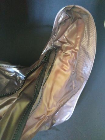 Прочные многоразовые чехлы для обуви с усиленными элементами