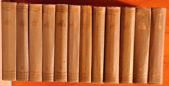 А.П.Чехов. Собрание сочинений в 12-и томах 1964 г.