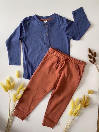 Костюм (комплект штаны и кофта реглан) H&M 92 см