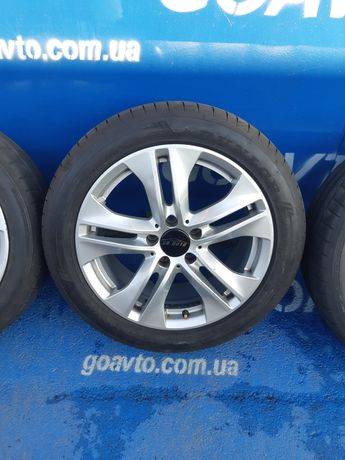 GOAUTO комплект дисков Mercedes-Benz 5/112 r17 et48 8j dia66.6 с рез 2