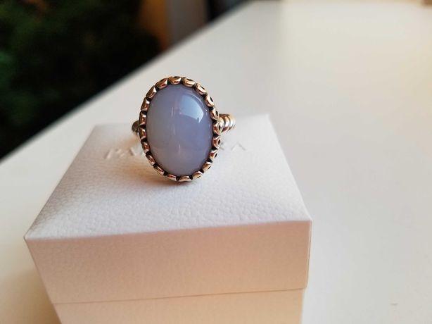 Кольцо Pandora, халцедон, 190842CA-55 - раритет