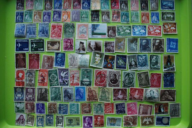 600 selos de Portugal antigos
