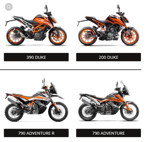 Мотоцикл Duke 200 390 ADVENTURE (Австрия)