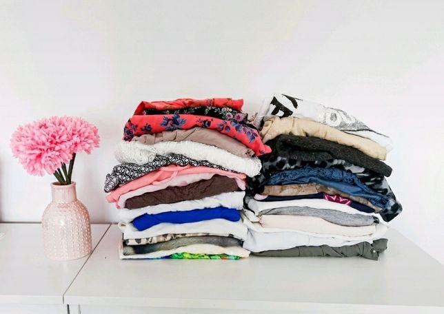 Odzież używana 100 sztuk mega paka  mix damski Cream worek odzieży