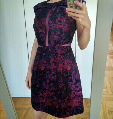 sukienka Asos koktajlowa wieczorowa 34 xs elegancka na wesele imprezę