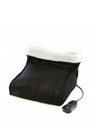 Elektryczny ogrzewacz termofor masażer do stóp nowy
