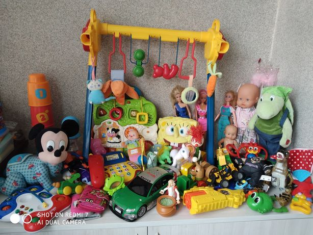 Іграшки для малечі з Європи