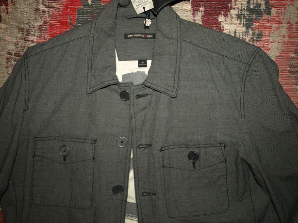 Мужская куртка John Varvatos, лёгкая, на подкладке, 48-50