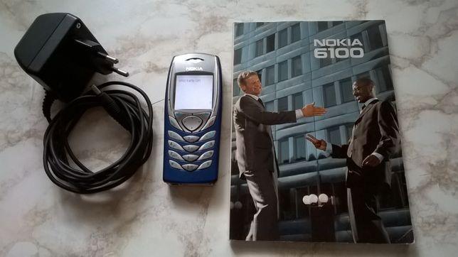 Telefon komórkowy NOKIA 6100 NPL-2 - klasyk, Made in Germany