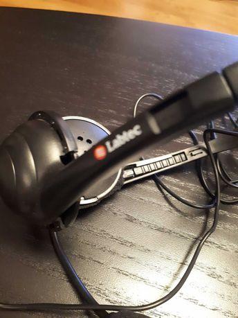 Słuchawki z mikrofonem Labtec