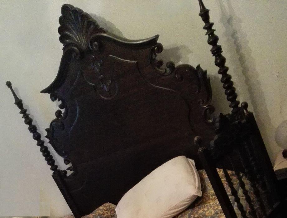 Vendo mobilia antiga de quarto estilo Séc-XVII Glória Do Ribatejo E Granho - imagem 1