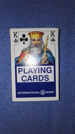 Karty do gry kompletne w pudełku