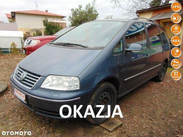 Volkswagen Sharan MAX-4x4-2,8 VR6 Benzyna-LIFT-Park x2-4Motion-6Bieg-HighLine-7os-OKAZJA