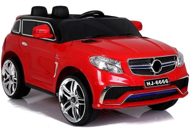 Auto na Akumulator Pojazd HJ6666 Czerwone Samochód Dla Dzieci od Ręki