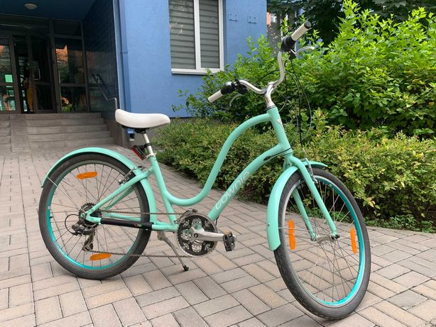 Велосипед (ситибайк) Electra Townie2, мятного цвета