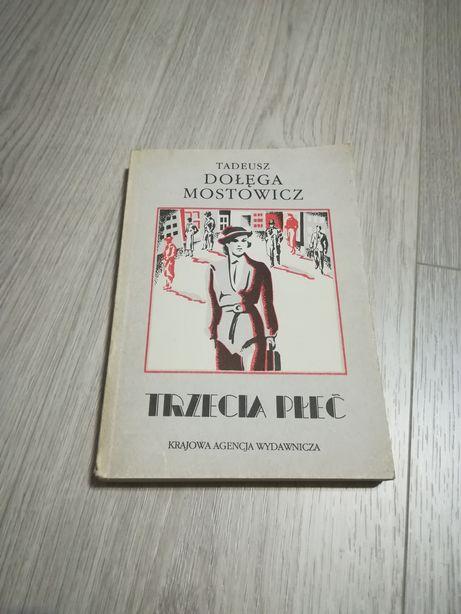 Książka Trzecia płeć - Tadeusz Dołęga Mostowicz