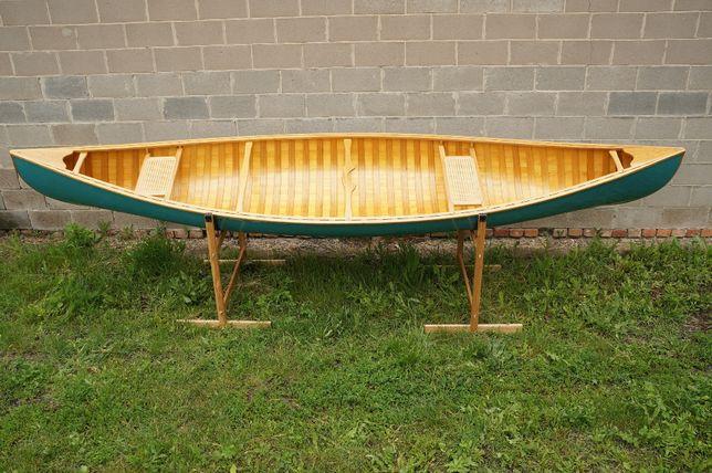 Деревянное канадское каноэ 4,5 м (деревянная лодка)