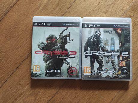 Crysis 2 + Crysis 3 Ps3