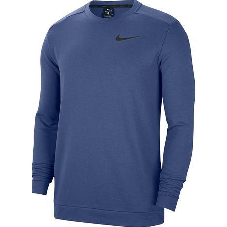Bluza męska Nike M Nk Dry Fleece Crew niebieska CU6795