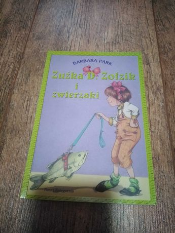 Zestaw 4 książek dla dzieci Zuźka D