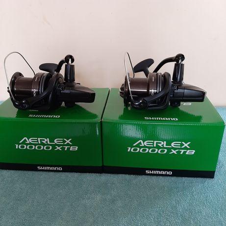 Shimano AERLEX 10000 XTB z zapasową szpulą.