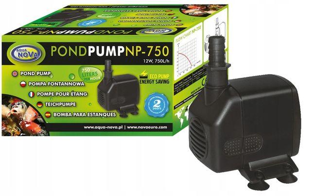 Pompa Do Oczka Wodnego Kaskady Fontanna Aqua Nova Np-750 750l/h