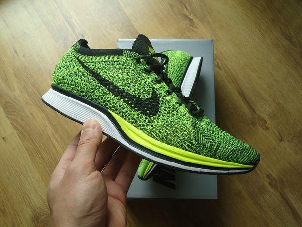 Nike Flyknit Racer Volt Green