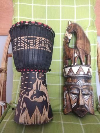 Bęben i Maska Afrykańska