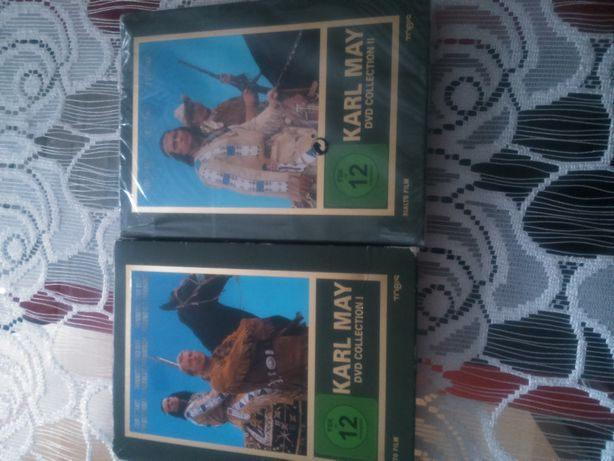 Karl May- DVD Collecktion I i II Vinetu 1962