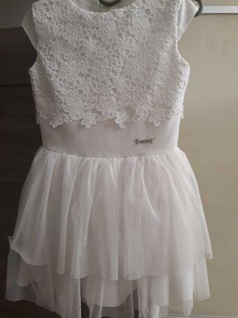 святкове, праздничное, платье, біле плаття для дівчинки, кружево