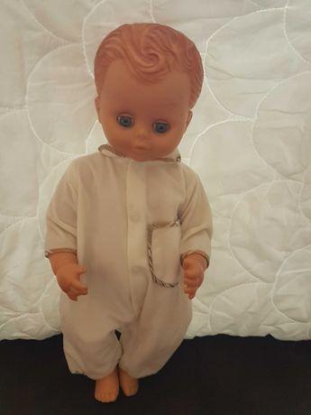 Винтажная анотомическая кукла мальчик
