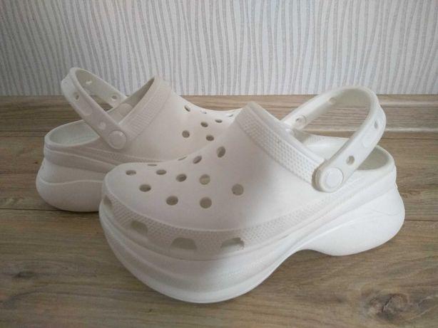 Crocs Bae Clog koturny platformy klapki j.nowe 35/36 W5
