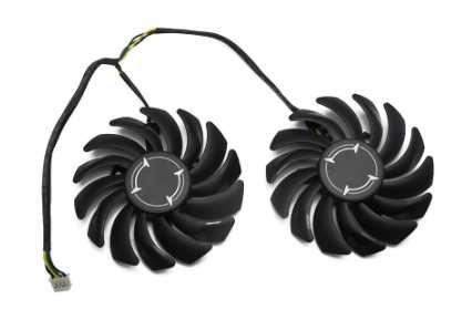 Кулер для видеокарты AMD MSI RX470 RX480 RX570 RX580