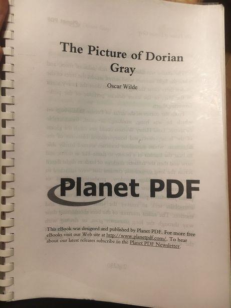 Портрет Дориана Грея, The picture of Dorian Gray Oscar Wilde
