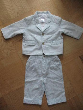 Sliczny garnitur The Children's PLACE z USA 6-9m