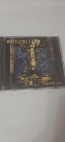 Sepultura chaos A.D plyta CD