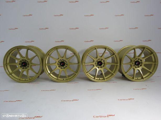 Jantes Japan Racing JR11 17 x 8.25 et35 +9 ET35 5x100/114 Gold