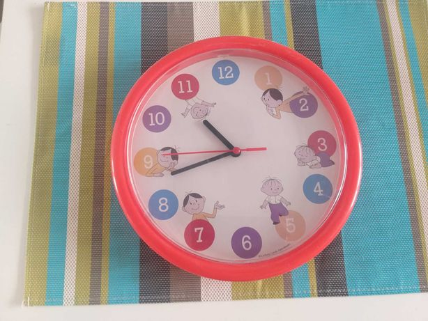 Zegar ścienny Bolek i Lolek
