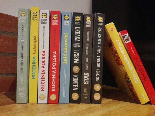 Wszystkie książki LIDL + dwie inne