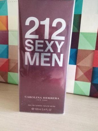 Современный мужской парфюм Carolina Herrera 212 Sexy Men.