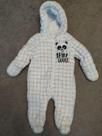 Kombinezon pajacyk niemowlęcy zimowy, rozm. 62