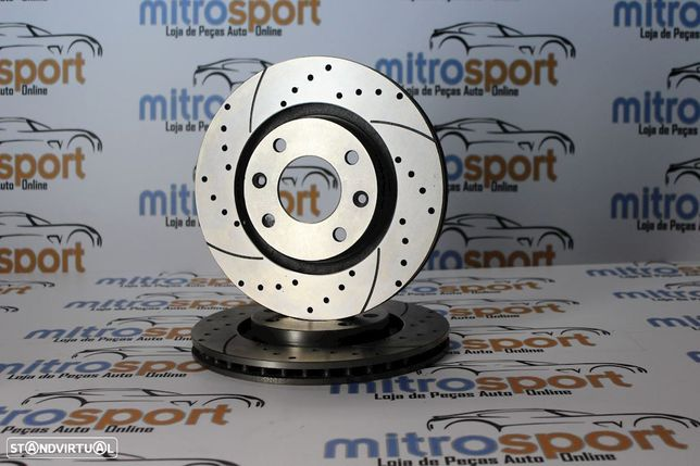 Discos de travão desportivos TA- Technix Audi A4 B6 288mm | Mitrosport