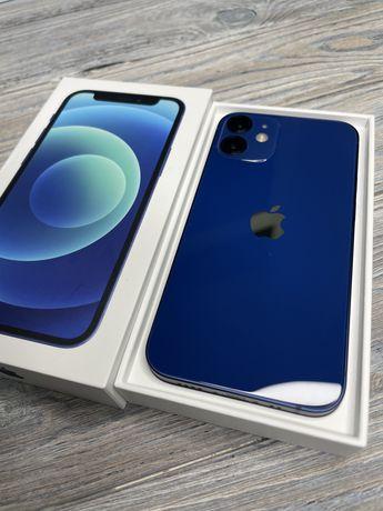 Новый IPhone 12 MINI 64gb blue EMOJIESTORE гарантия рассрочка 770;