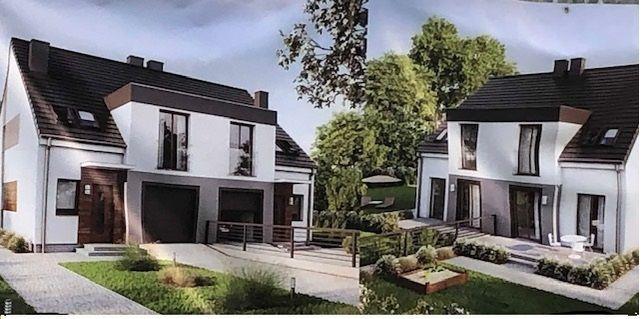 dom blizniak w stanie surowym sprzedam lub zamienie